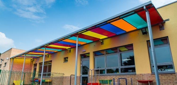 Ysgol Bro Teifi School Canopy