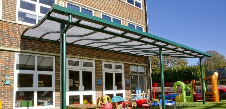 Brighton and Hove Junior School Canopy