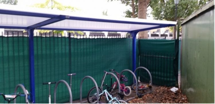 St Mary's Catholic Primary School Bike Shelter
