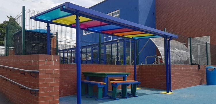 Djanogly North Gate Academy Canopy