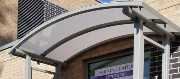 Abbey Primary School Entrance Canopy