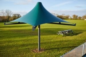 Ashcott Playing Fields Umbrella Canopy