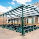 Motiva Duo canopy at St Peter's High School