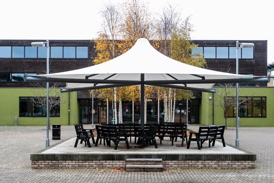 Waingels College Umbrella Shelter