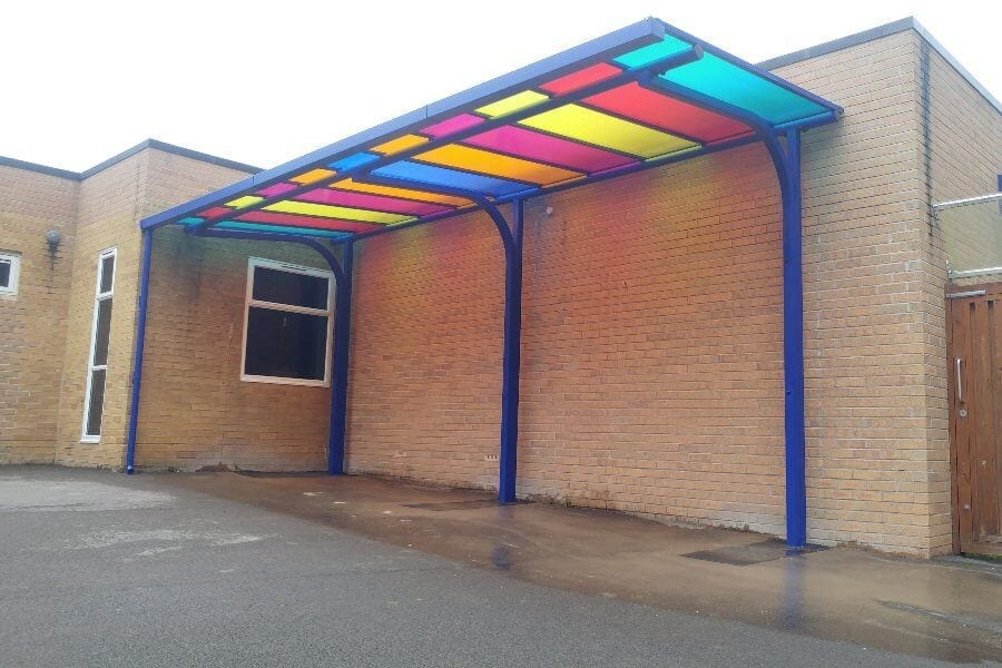 Billing Brook Academy Cantilever Canopy