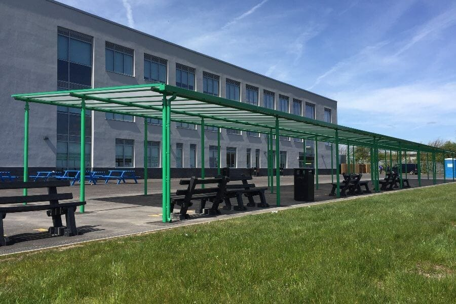 Blackpool Aspire Academy Green Canopy