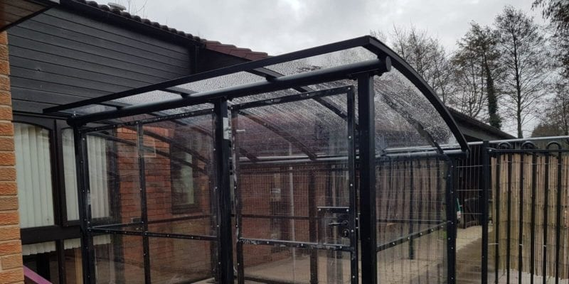 Blakenhall Family Centre Buggy Shelter