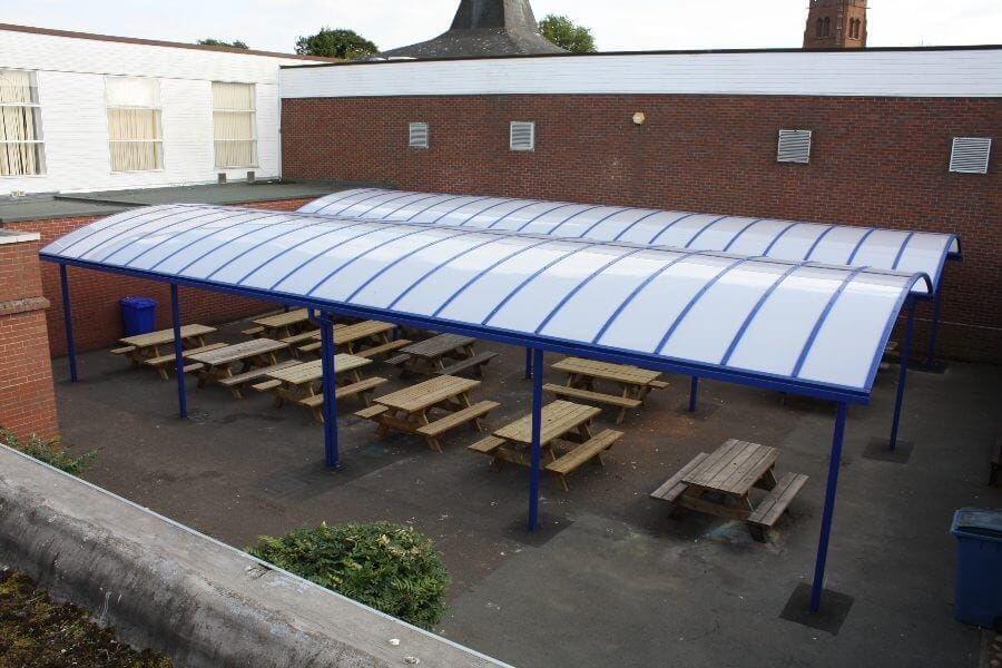 School Dining Area Shelters