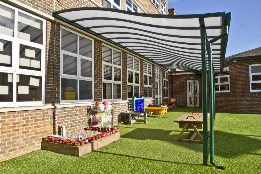 Brighton Primary School Playground Canopy