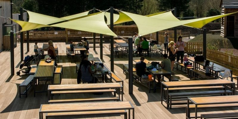 Chobham Adventure Farm Fabric Shade Sails