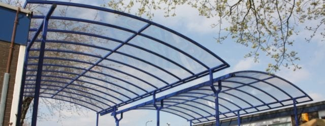 Curved Roof Canopies