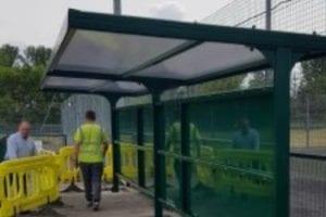 Haughmond FC Spectator Stand
