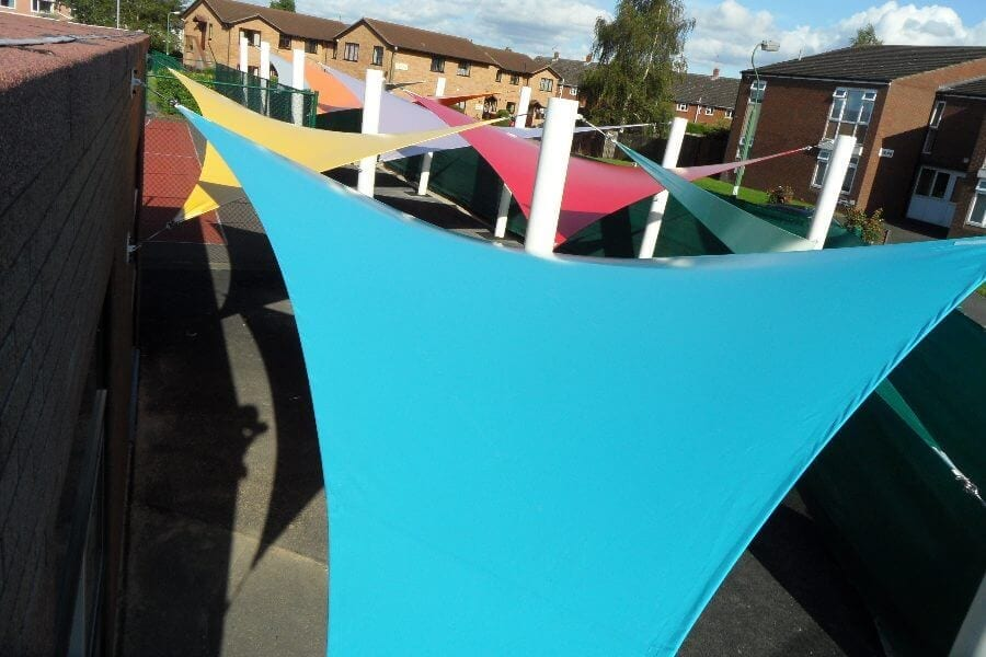 Severndale Special School Shade Sails