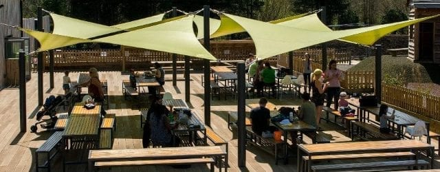Shade sails we designed forChobham Adventure Farm
