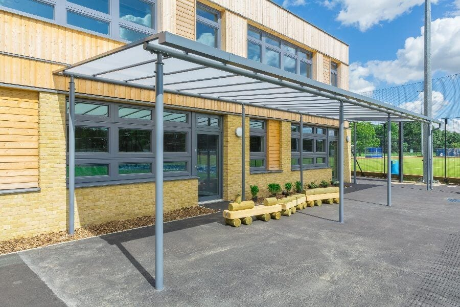 Simon Balle School Playground Shelter