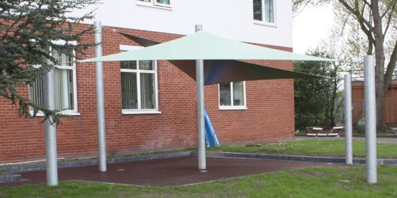 Canopy we installed at Wirral Medical Centre