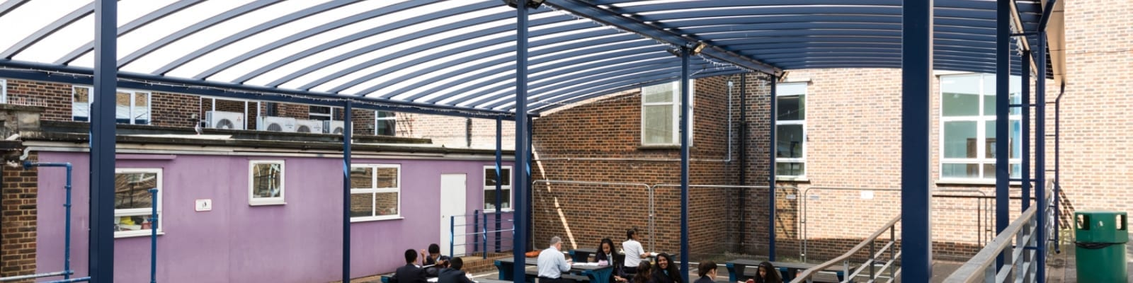 Claremont High School Dining Shelter