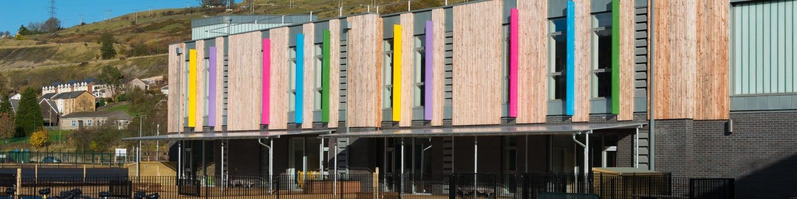 Ebbw Fawr Learning Community Shelter