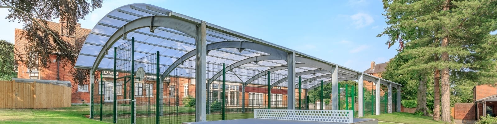 Haileybury College Covered MUGA
