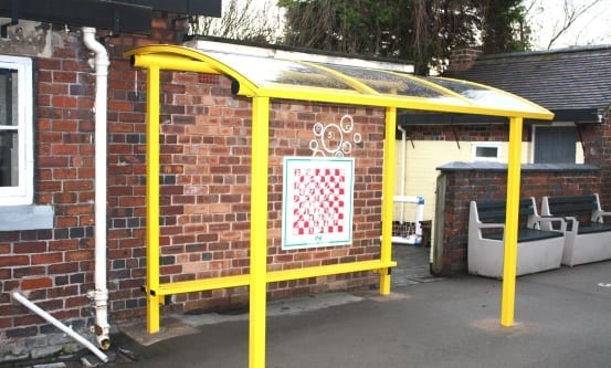 Yellow School Canopy