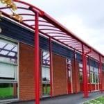 School Canopy Red