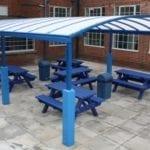 Outdoor School Dining Canopy