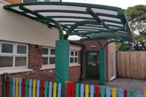 Shelter we made for St Anne's School