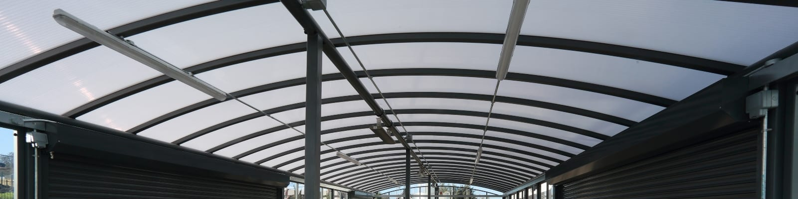 St Cuthbert's School Enclosed Shelter