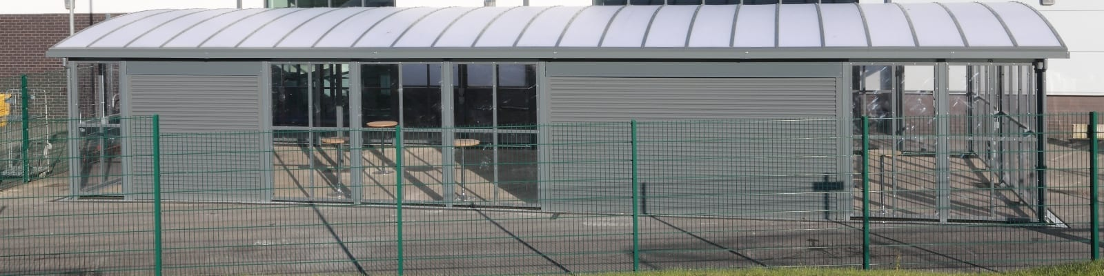 St Cuthbert's School Enclosed Shelter