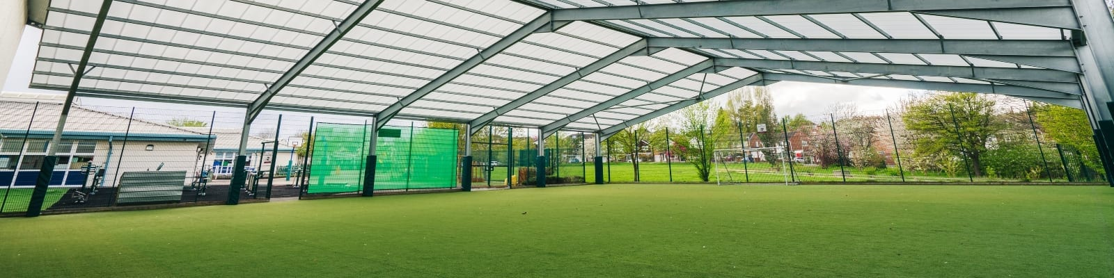 The Brier School Covered MUGA