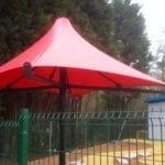 Umbrella Tensile Fabric Canopy
