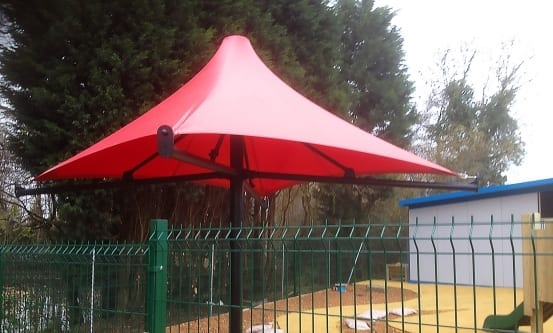 Umbrella Tensile Fabric Canopy