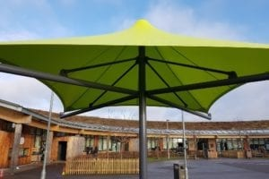 Canopy we fitted at Woodlands Primary School