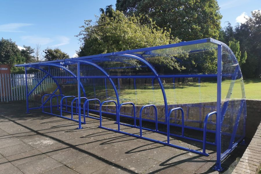 Bilbrook Middle School Cycle Shelter