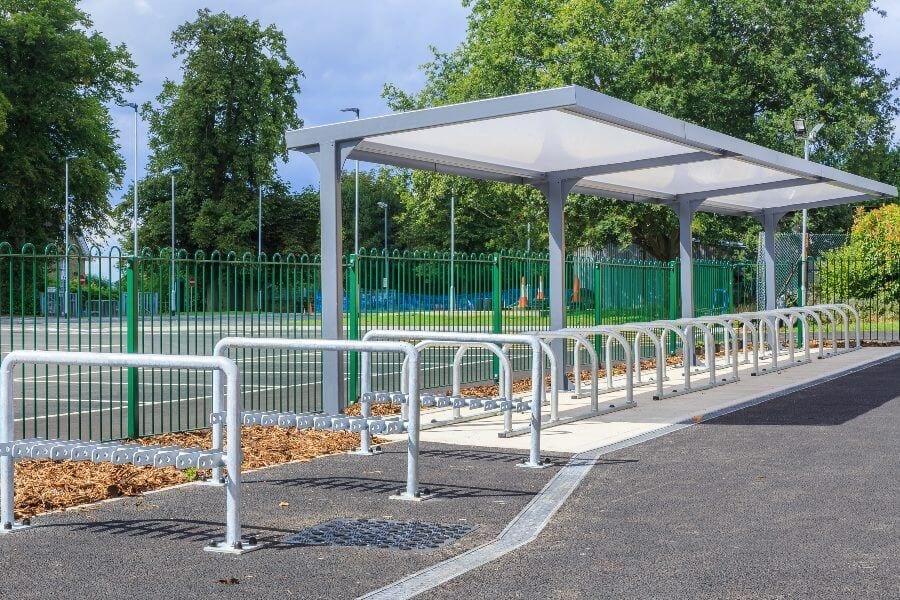 Simon Balle All Through School Cycle Shelter
