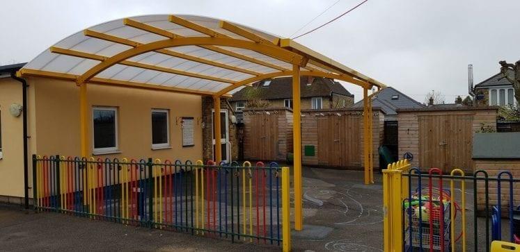 Ethelbert Primary School Canopy