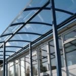 Myddle Primary School Curved Roof Shelter