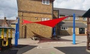 Canopy we fitted at Old Oak Primary School