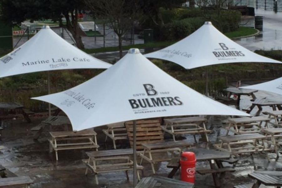 Pub Parasol Canopies