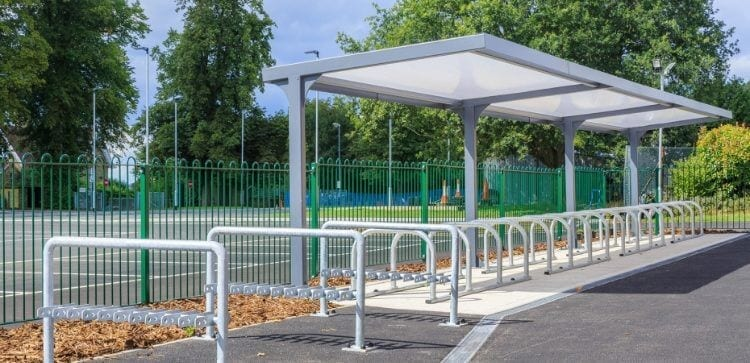 Simon Balle All Through School Cycle Shelter