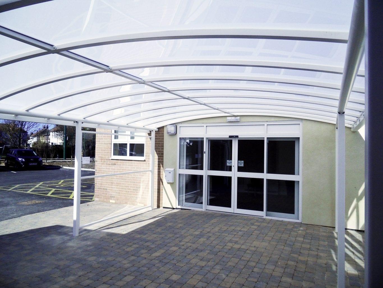 Healthcare Entrance Canopy