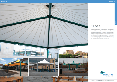 A&S Landscape Maxima Tepee Brochure
