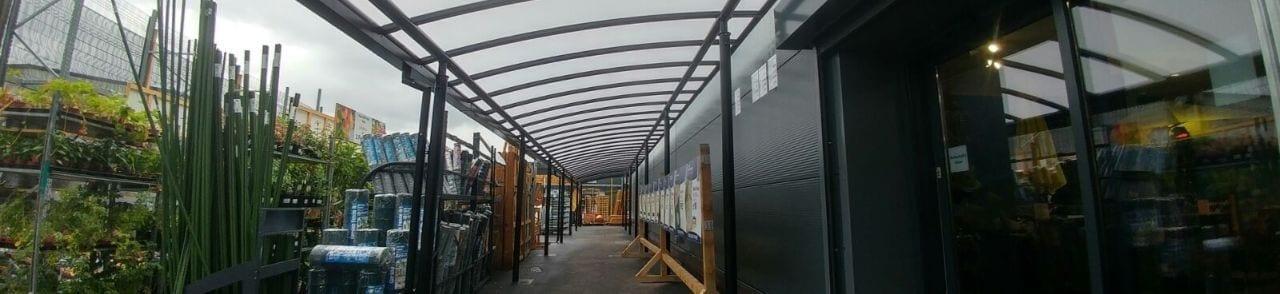 Taskers Garden Centre Walkway Canopy