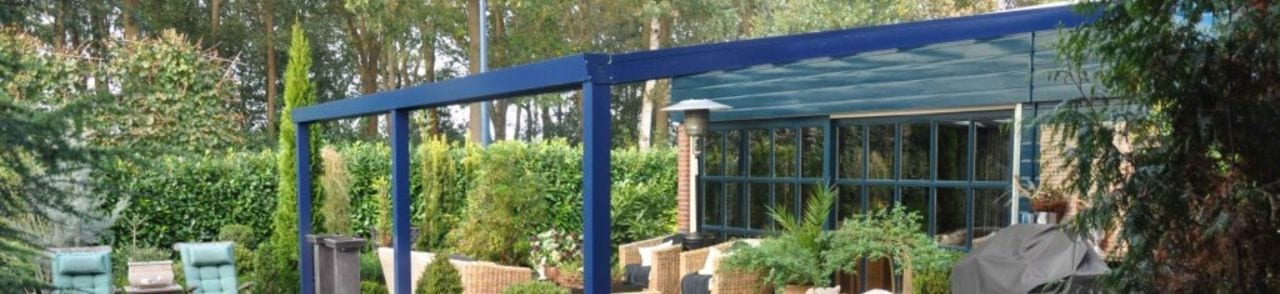 Garden Centre Straight Roof Canopy