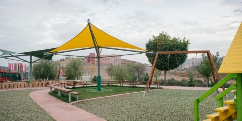 Playground Shade Sail