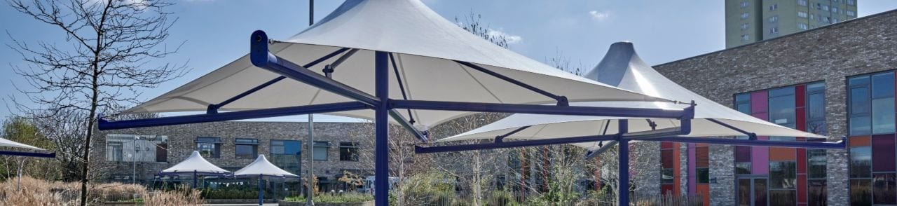 The Willow Primary School Umbrella Canopy