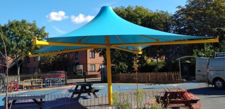 Westmeads Infants School Umbrella Canopy