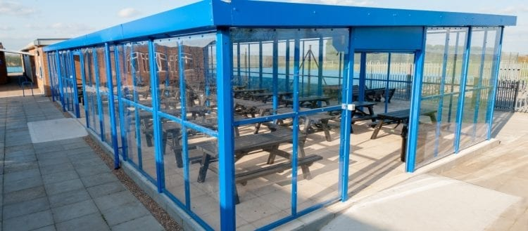 Branston Academy Enclosed Shelter