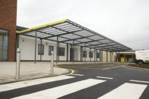 Bespoke Canopy at Ashmount School