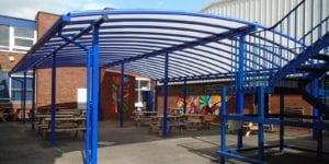 Brownhills School Dining Shelter